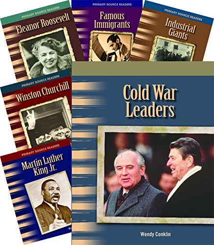 Biographies: 20th Century 8-Book Set (Social Studies Readers) by Shell Education