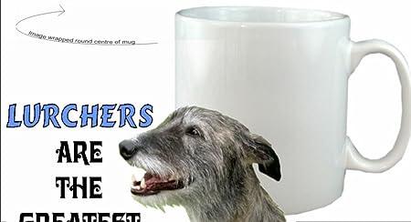 Lurcher dog gift idea Mug Ideal present for Lurcher lovers