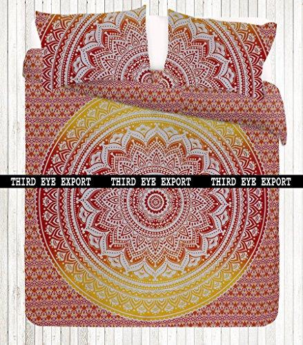 third-eye-export-new-ombrey-full-indian-medallion-queen-size-cotton-doona-duvet-cover-set-hippie-boh