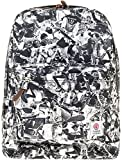 Franklin & Marshall Unisex Unisex Black Backpack With Print Black