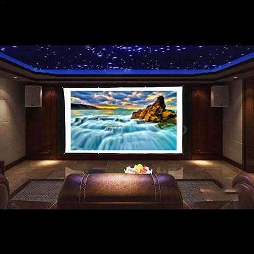 class-z pantalla de proyector 120 pulgadas 16: 9 poliéster Simple ...