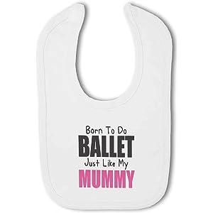 Born to do Ballet like my Mummy cute Baby Vest by BWW Print Ltd