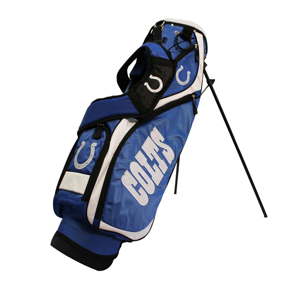 Team Golf 31227 Indianapolis Colts NFL Nassau Stand Bag