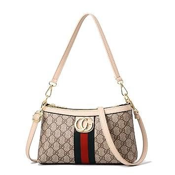 10abcde56530 2019 New Women Fashion Joker Vintage Printed Shoulder Bag Messenger CG Lock  Cross Body Bag Baby