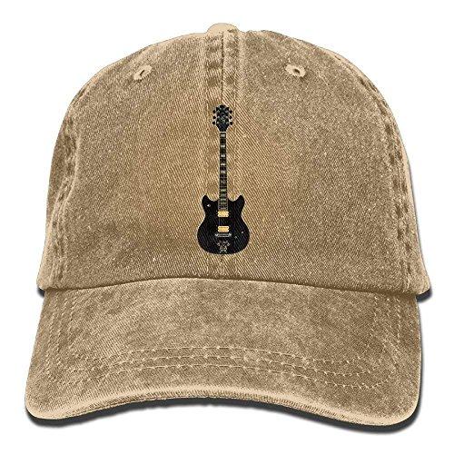 Music Guitar Skull Sport Cap Men Women Denim Cowboy Hat DEFFWB Cowgirl for Hats qpw4Ew