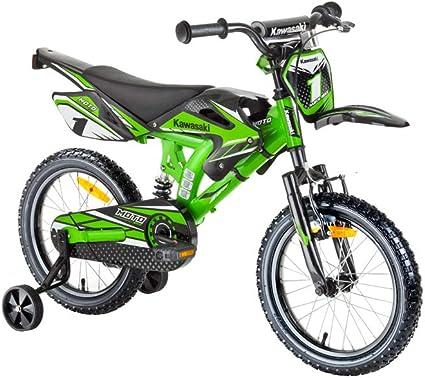 haut fonctionnaire vêtements de sport de performance vente chaude réel Kawasaki Vélo pour Enfant 16
