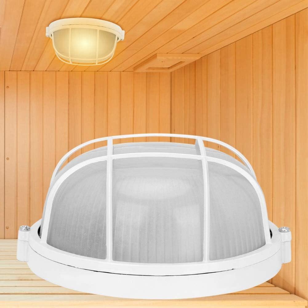 Luce per Sauna Lampada per Sauna Temperatura Anti-Alta per Sauna Accessori per Sauna con Lampadina a Filo E27