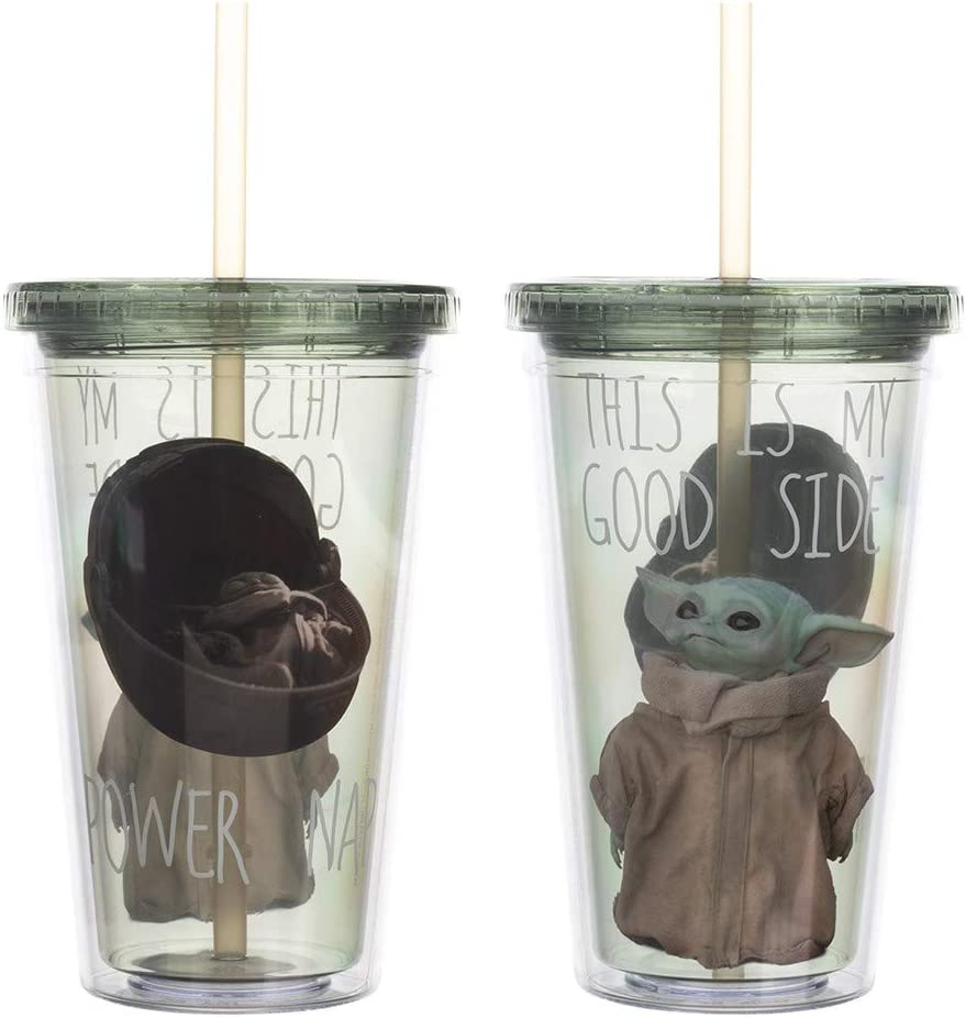 Baby Yoda The Mandalorian This Is My Good Side Travel Cup