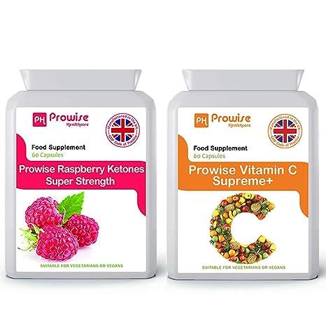 Raspberry Extra Strength 600mg (60 Cápsulas) + Suplemento de ...