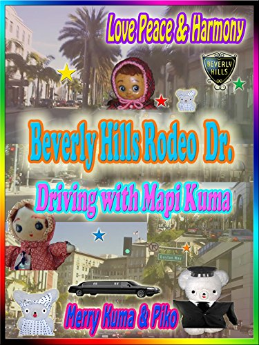 Clip: Beverly Hills Rodeo Dr.  Driving with Mapi Kuma - Hills Beverly Shopping Rodeo Drive