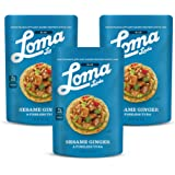 Loma Linda Blue - Plant-Based Meal Solution - Sesame Ginger Fishless Tuna (3 oz.) (Pack of 12) - Non-GMO