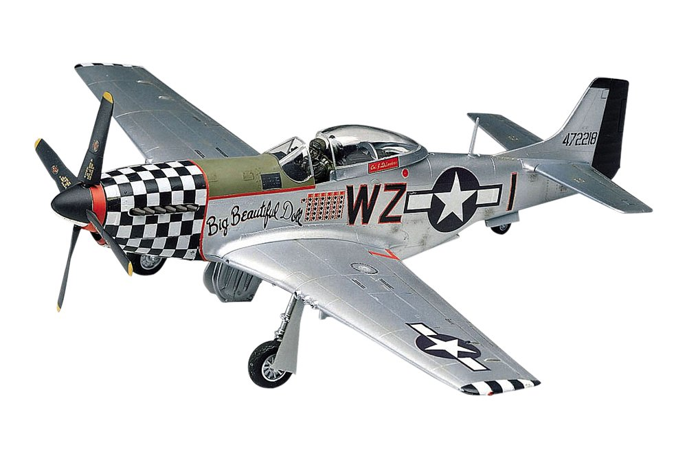 amazon com revell 1 48 p 51d mustang toys games
