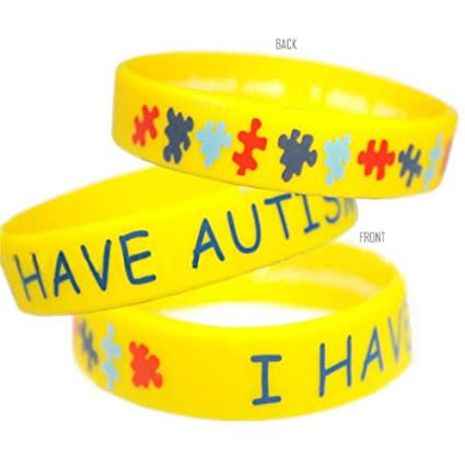 piece bracelets link item charm bracelet bangles puzzle fashion enamel in feimeng jewelry claw awareness chain lobster autistic autism
