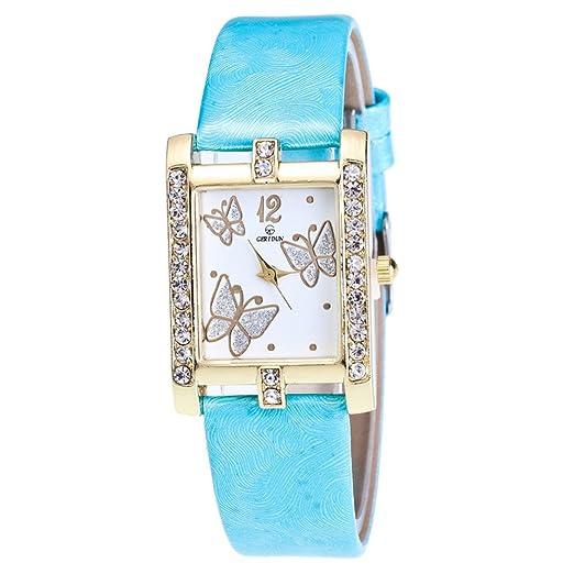 Relojes Pulsera Mujer,Reloj de Mujer Reloj de Pulsera de Cuarzo de aleación analógica Retro