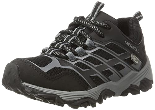 Merrell Ml-s Moab Fst Low Waterproof, Zapatillas de Senderismo para Niños: Amazon.es: Zapatos y complementos
