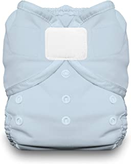 product image for Thirsties Duo Wrap Cloth Diaper Cover, Hook and Loop Closure, Ice Blue Size Two (18-40 lbs)