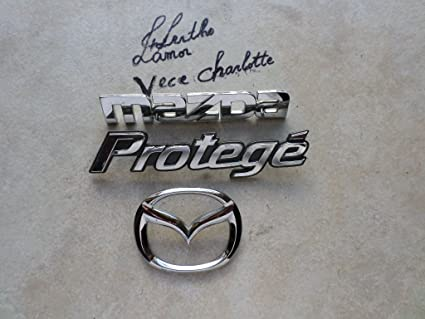 get cheap catch catch Amazon.com: 02 Mazda Protege Trunk Badge B25D 51 730 Emblem ...