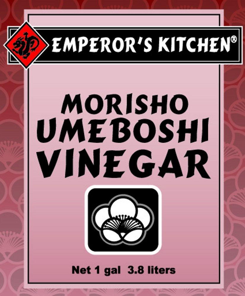 Emperor's Kitchen Traditional Umeboshi Vinegar, 1 Gallon Plastic Jug by EMPEROR'S KITCHEN