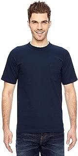 product image for Bayside BA7100 Basic Pocket T-Shirt - Navy - L