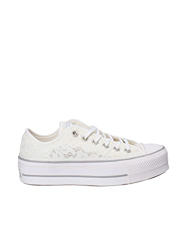 Converse C.T. All Star Clean Lift Ox White Mouse 561288C: Amazon.de ...