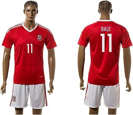 2016 populaire du Pays de Galles 11 Gareth Bale Home Maillot