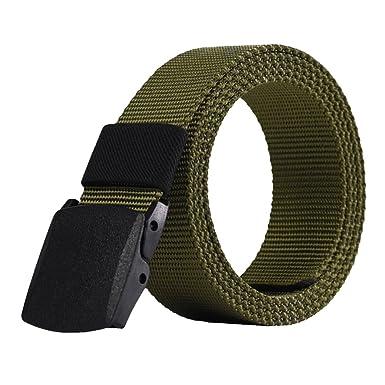 Chen Rui (TM)))) Homme Sport Tactique Militaire Ceinture Toile Sangles  Boucle Taille Réglable Décontractée Mode  Amazon.fr  Vêtements et  accessoires 2df4824775e