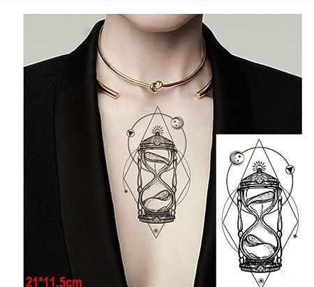 HYTGF Tatuaje Temporal Etiqueta engomada Impermeable música ...