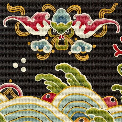 Art Needlepoint Chinese Dragon Needlepoint ()