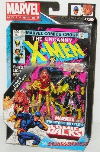 Marvel Universe Comic 2 pack: The Uncanny X-Men - Cyclops & Dark Phoenix by Hasbro