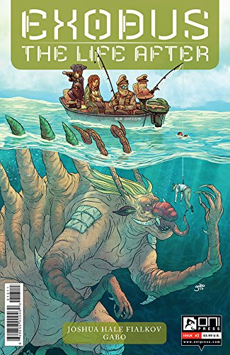 THE LIFE AFTER #2 EXODUS ONI PRESS