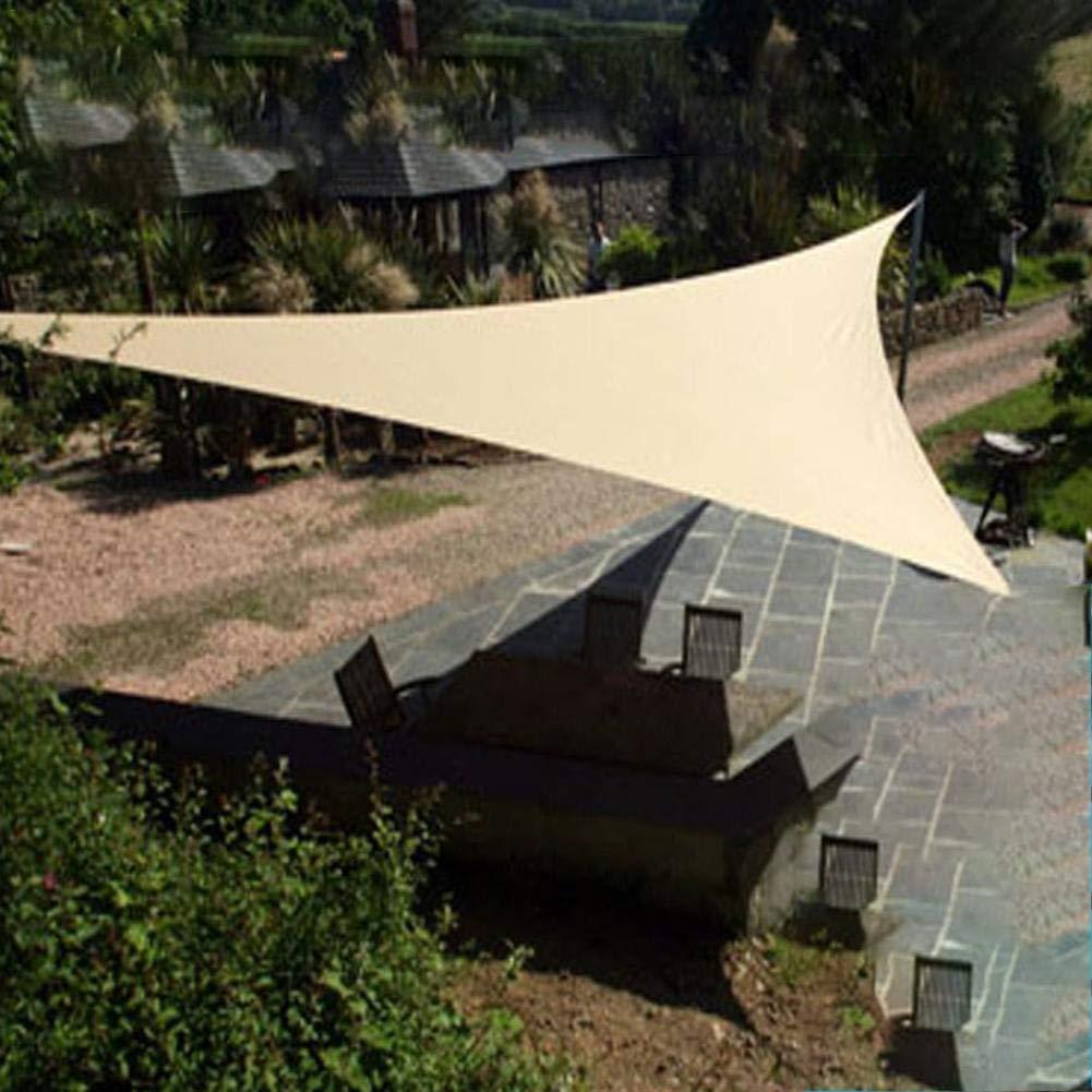 L/â Vestmon Sails Garden Gazebo 2 x 2 x 2 m Gelb Tenda da Sole Impermeabile Triangolare Protezione UV 98