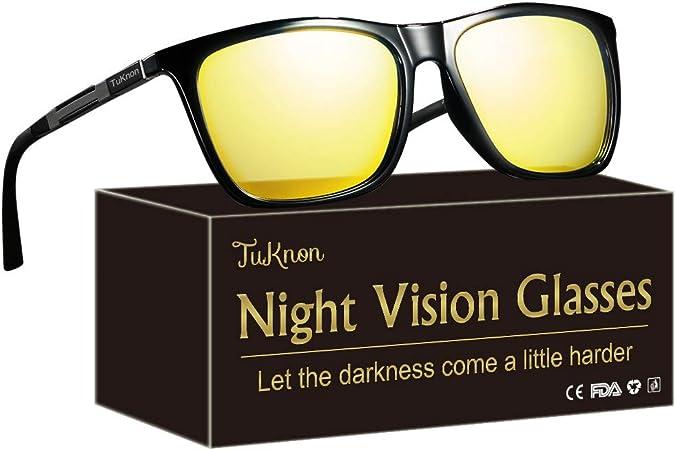 Lunettes de Vision Nocturne de sécurité Anti-Ref Lunettes de Conduite de Nuit