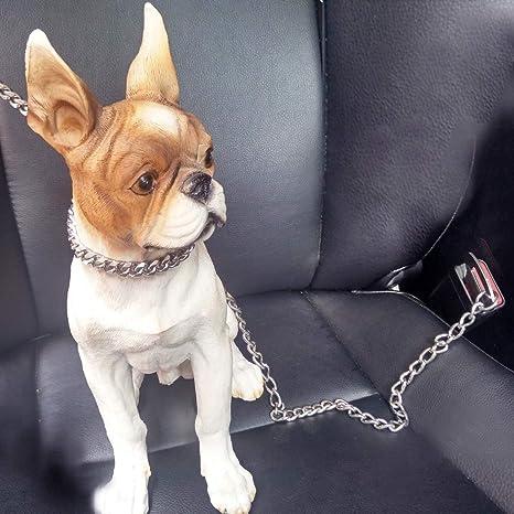 Segle Cinturón de Seguridad para Perro con Cadena de Metal para ...