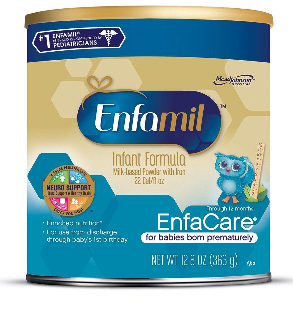 Enfamil EnfaCare Infant Formula, Powder, 12.8 Ounce, Pack of 6