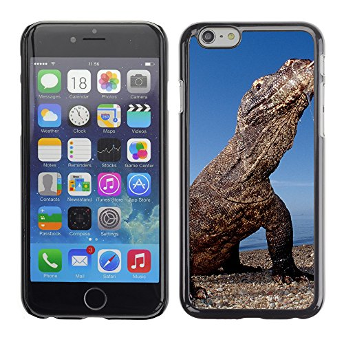 Premio Sottile Slim Cassa Custodia Case Cover Shell // V00003512 dragon de Komodo île de Komodo // Apple iPhone 6 6S 6G PLUS 5.5""
