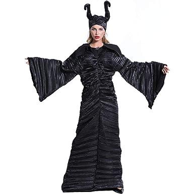 XIEPEI 2019 - Disfraz de Bruja Oscura para Halloween, Talla Grande ...