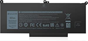 Saleaps F3YGT DM3WC Laptop Battery - for Dell Latitude 12 7000 7280 7290, 13 7000 7380 7390 14 7000 7480 7490 Series Notebook, Fit 451-BBYE 453-BBCF KG7VF