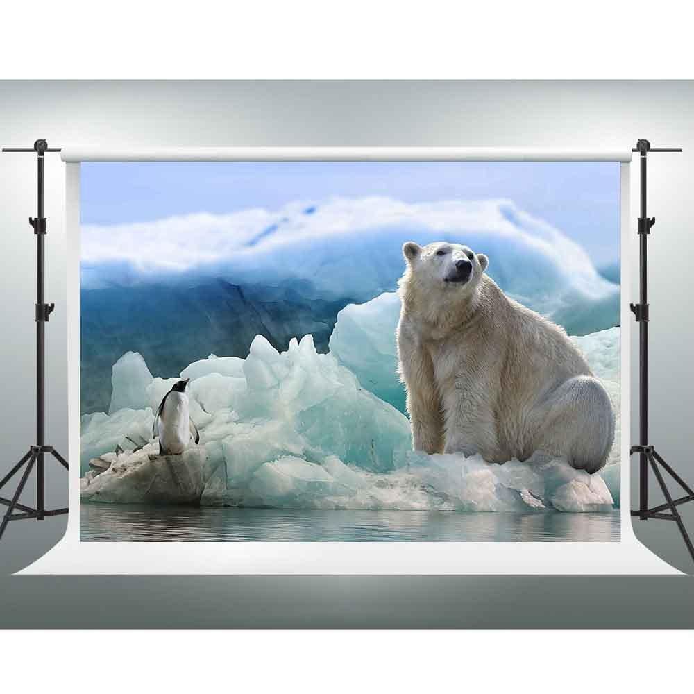 お待たせ! Gesen 10 sen682 x 7ft冬Backdrop雪Penguin and Polar Bear Bear Backdrop You 10 Tube背景ビデオStudio Props sen682 B07CRWC5DG, AAA net Shop:bc6e1d98 --- by.specpricep.ru