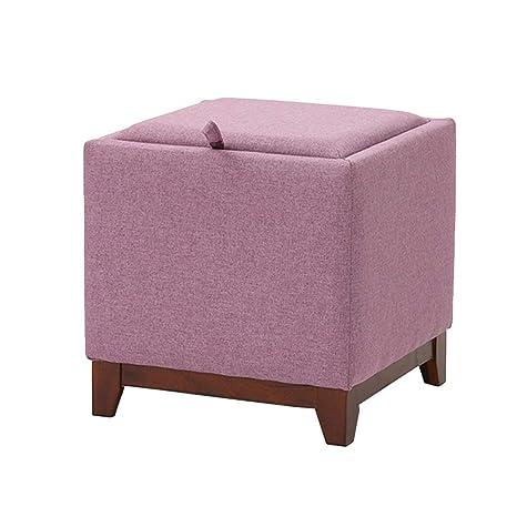 Surprising Amazon Com Grjxmd 4 Storage Stools Large Capacity Ottoman Inzonedesignstudio Interior Chair Design Inzonedesignstudiocom