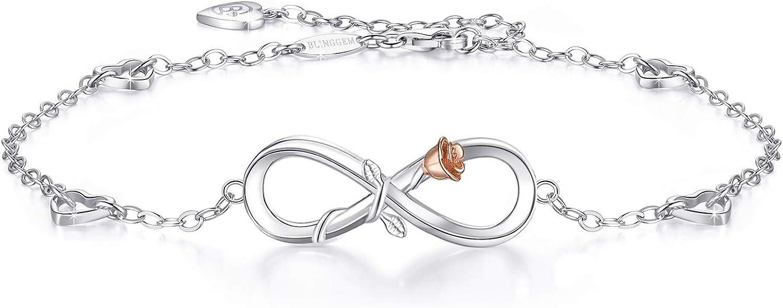 BlingGem Ankle Bracelet 925...