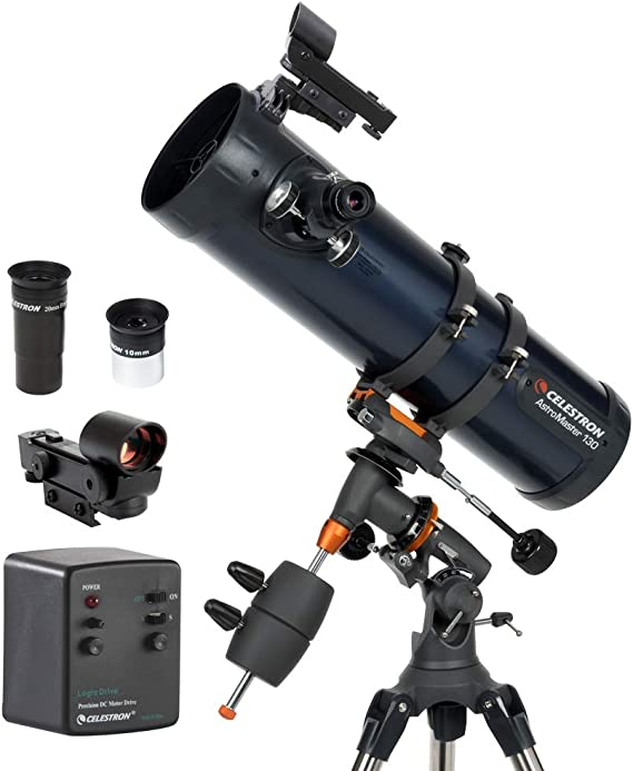 Celestron 31051 Astromaster 130eq Md Motor Drive Camera Photo