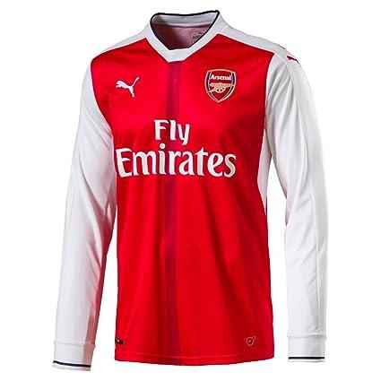 meet 8a4e9 dd080 Puma Arsenal FC LS HOME Replica Jersey-RED (XXL)