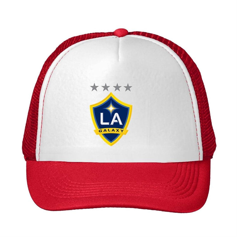 Woman's or Men's LA Galaxy 3 Comfortable Fan Adjustable Mesh Caps