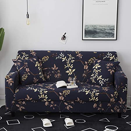 Stretch 1-2-3-4 Seater Sofa Slipcover Couch Ottoman Cover Protector Elastic YR