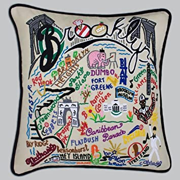 Echo Odyssey Fashion Cotton Throw Pillow, Global Inspired Embroidered Oblong Decorative Pillow, 10X20, Stone