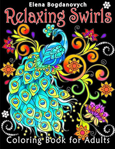 After The Great Success Of AMAZING SWIRLS Which Is An Amazon Best Seller RELAXING Second Elena Bogdanovychs Coloring Book For Adults