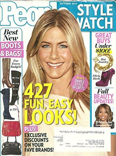 Jennifer Aniston * Gabrielle Union * 427 Fun, Easy Looks! * October, 2010 People Style Watch Magazine [166 ()