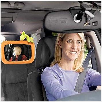 Car Seat Rear View Mirror - Reverse Mount