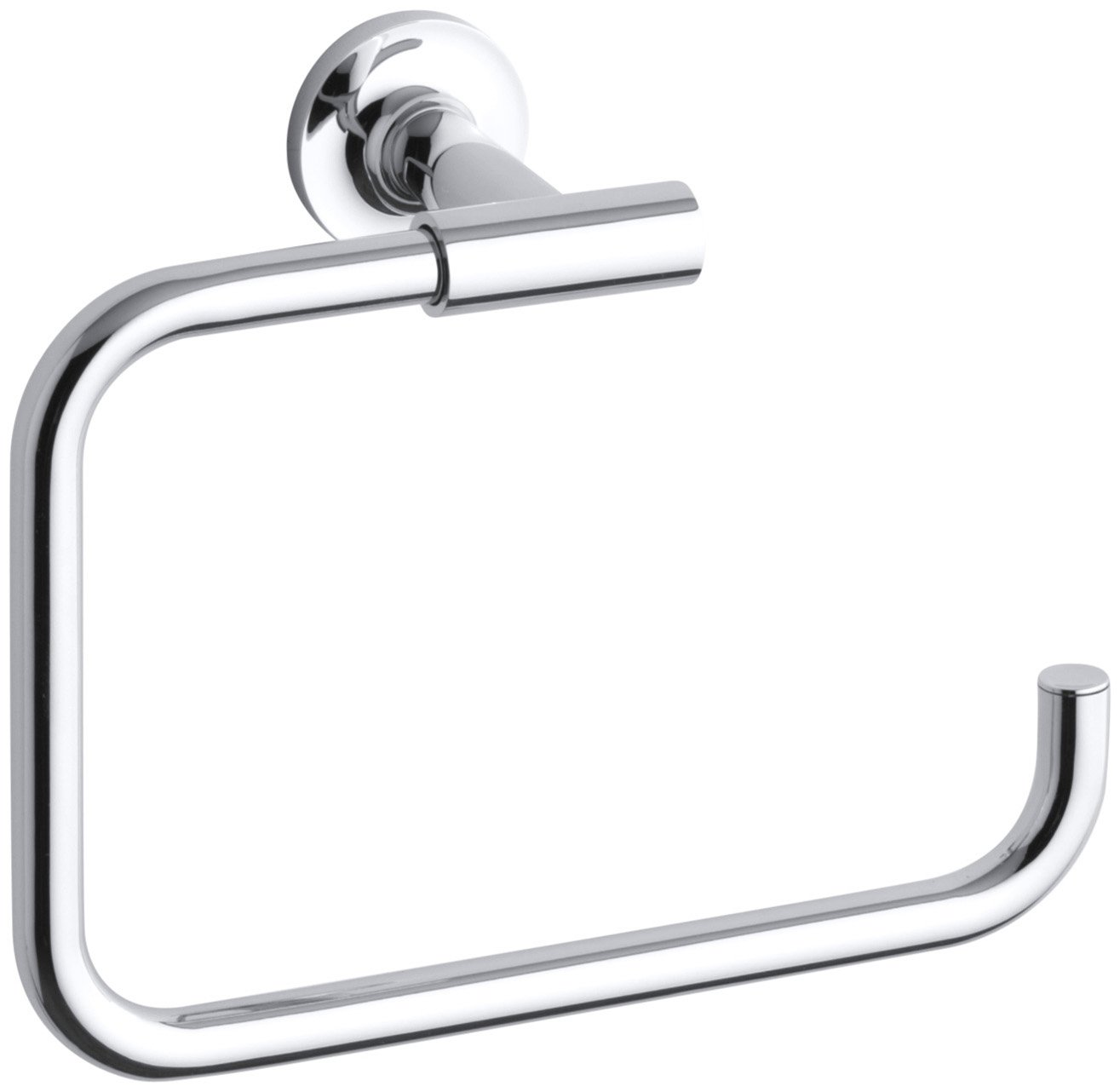 KOHLER K-14441-CP Purist Towel Ring, Polished Chrome