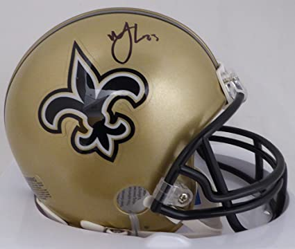 MARSHON LATTIMORE AUTOGRAPHED NEW ORLEANS SAINTS MINI HELMET BECKETT BAS  STOCK  126630 46681fd45